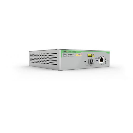Allied Telesis AT-PC2000/LC-60 Netzwerk Medienkonverter 1000 Mbit/s 850 nm Grau