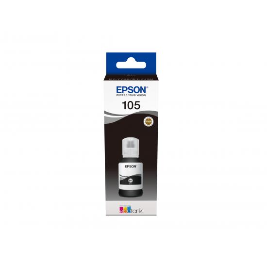 Epson 105 EcoTank Pigment Black ink bottle