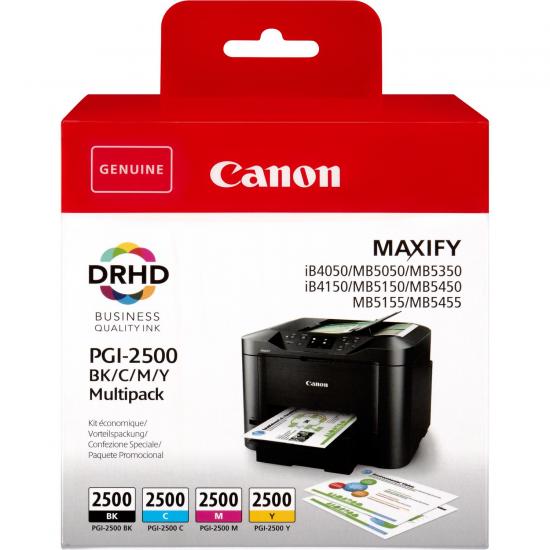 Canon PGI-2500 BK/C/M/Y Original Schwarz, Cyan, Magenta, Gelb