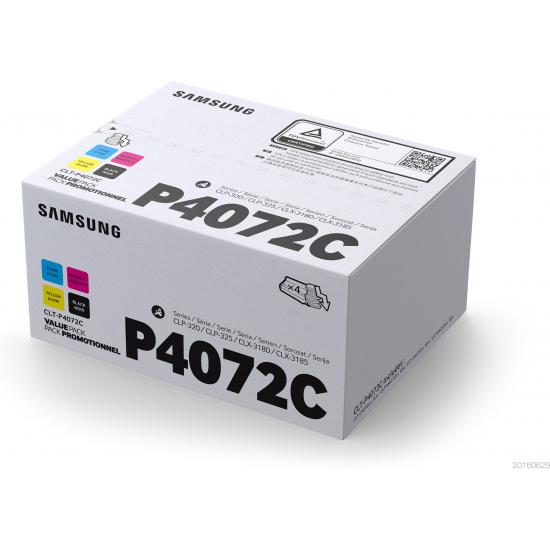 Samsung CLT-P4072C Original Schwarz, Cyan, Magenta, Gelb 4 Stück(e)