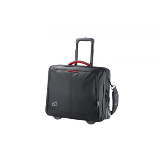 Fujitsu Prestige Trolley 17.3 Notebooktasche 43,9 cm (17.3 Zoll) Trolley-Koffer Schwarz