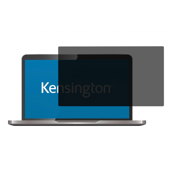 """Kensington Blickschutzfilter - 2-fach, abnehmbar für 13,3"""" Laptops 16:9"""