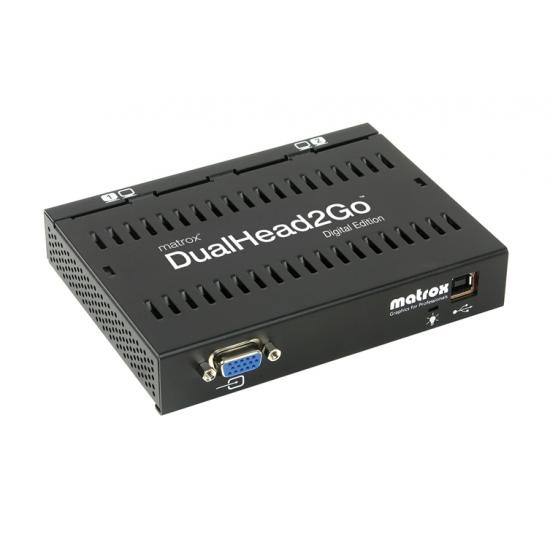 Matrox DualHead2Go Digital Edition VGA 2x DVI-I