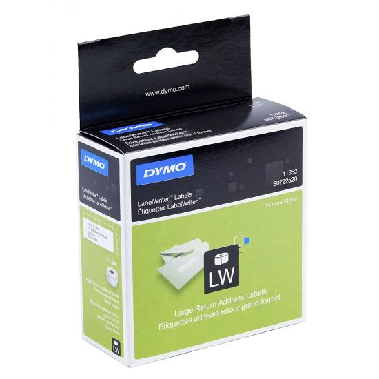 DYMO LW - Große Absenderetiketten - 36 x 89 mm - S0722520