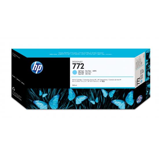 HP 772 Original Helle Cyan