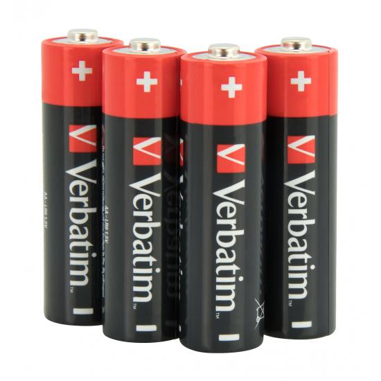 Verbatim AA-Alkalibatterien