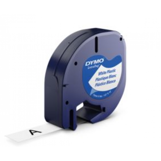 DYMO 12mm LetraTAG Plastic tape Etiketten erstellendes Band