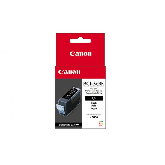 Canon BCI-3eBk Original Schwarz