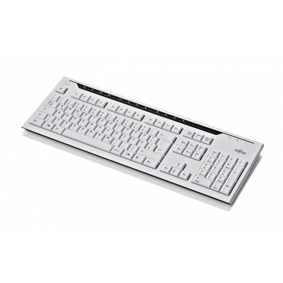 Fujitsu KB520 Tastatur USB Norwegisch Grau