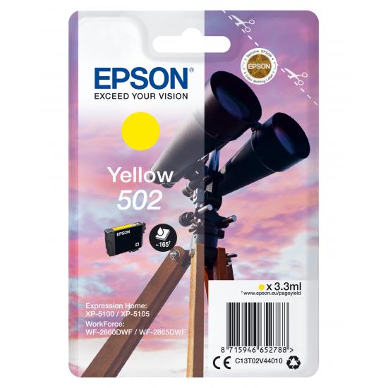 Epson Singlepack Yellow 502 Ink