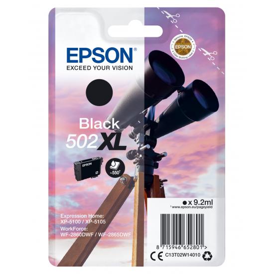 Epson Singlepack Black 502XL Ink