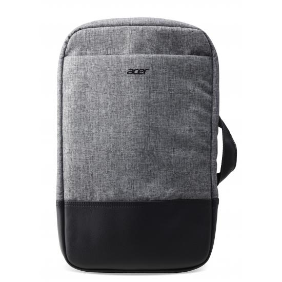 Acer NP.BAG1A.289 Notebooktasche 35,6 cm (14 Zoll) Rucksack Schwarz, Grau