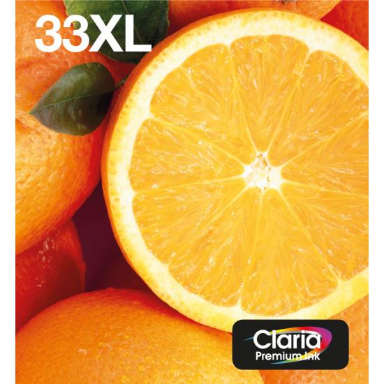 Epson Oranges Multipack 5-colours 33XL Claria Premium Ink EasyMail