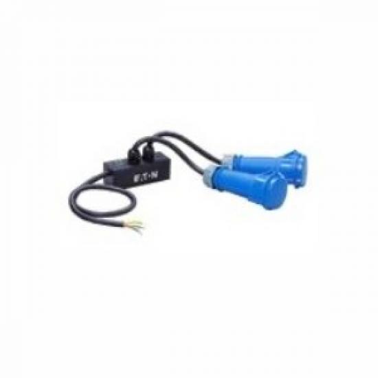 Eaton CBL2OUT32 Stromkabel Schwarz 0,75 m IEC 309