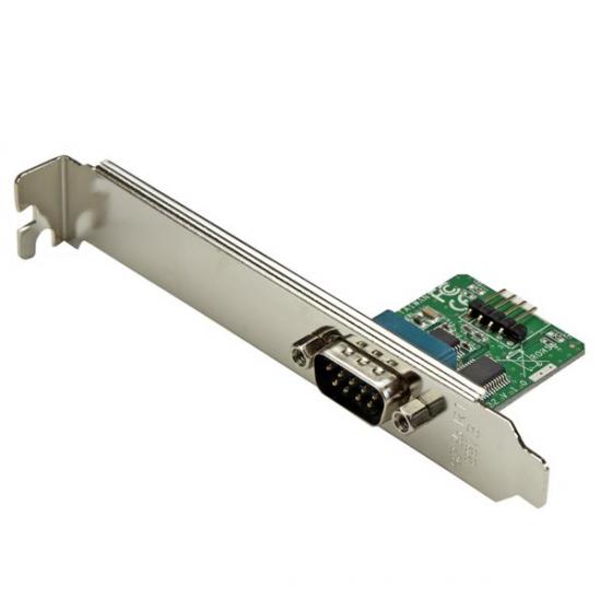 StarTech.com 60cm Internes USB 10 Pin Header auf Serielles RS232/ DB9 Slotblech