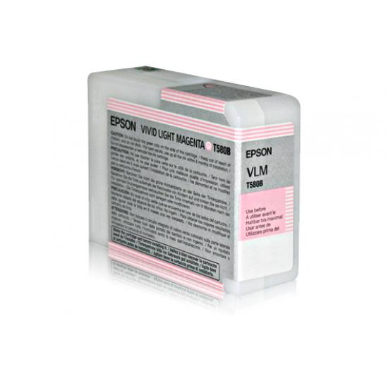 Epson Singlepack Vivid Light Magenta T580B00