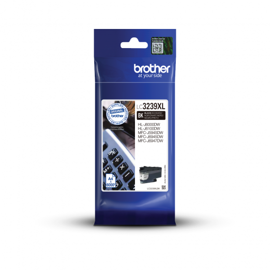 Brother LC-3239XLBK Druckerpatrone Original Schwarz 1 Stück(e)