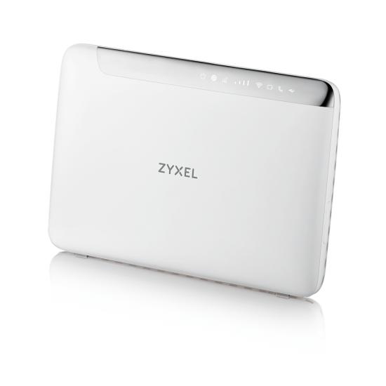 Zyxel LTE5366-M608 WLAN-Router Dual-Band (2,4 GHz/5 GHz) Gigabit Ethernet 3G 4G Weiß