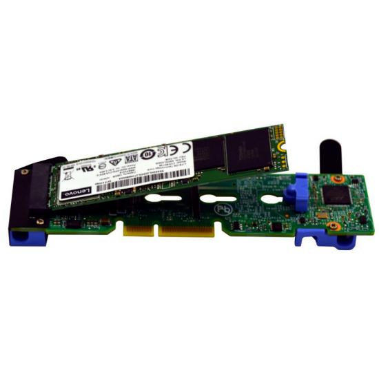 Lenovo 4XH7A08791 Computer Kühlkomponente Solid-State-Laufwerk Montageset 1 Stück(e) Schwarz, Blau, Grün