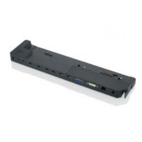 Fujitsu S26391-F2249-L300 Notebook-Dockingstation & Portreplikator Schwarz