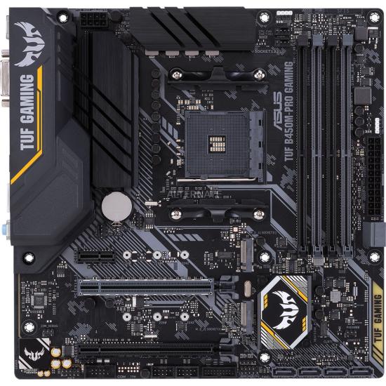 ASUS TUF B450M-PRO GAMING Socket AM4 micro ATX AMD B450