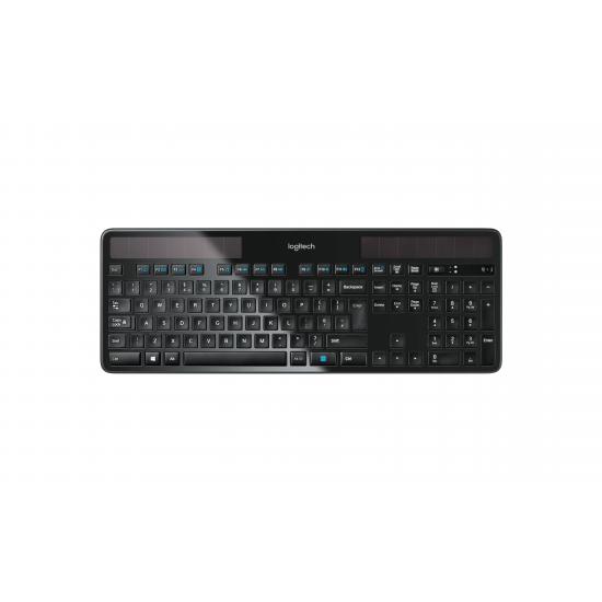 Logitech K750 Tastatur RF Wireless QWERTZ Deutsch Schwarz