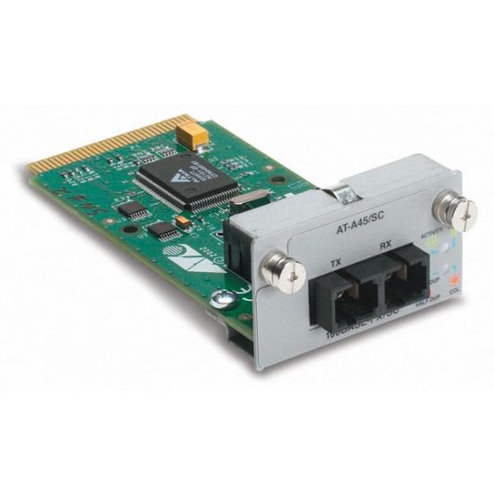 Allied Telesis AT-A45/SC Single port 100FX module Switch-Komponente
