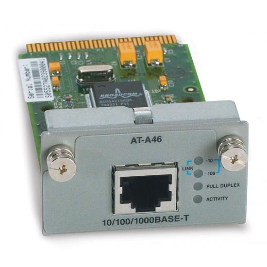 Allied Telesis AT-A46 Single port 10/100/1000T module Switch-Komponente
