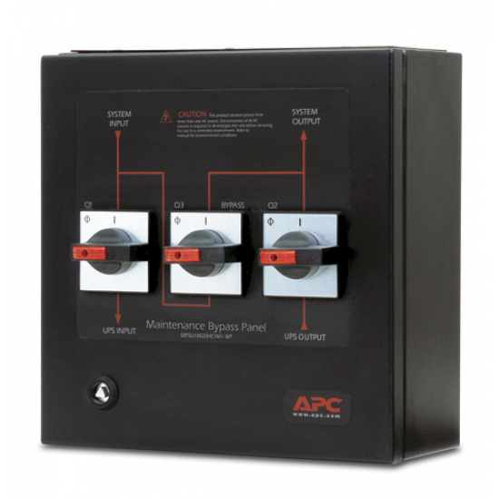 APC Smart-UPS VT Maintenance Bypass Panel Netzteil Schwarz
