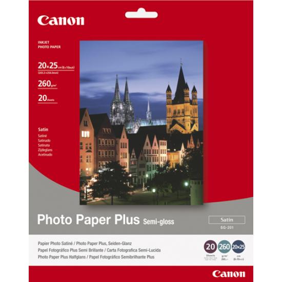 Canon SG-201 - 20x25cm Photo Paper Plus, 20 sheets Fotopapier