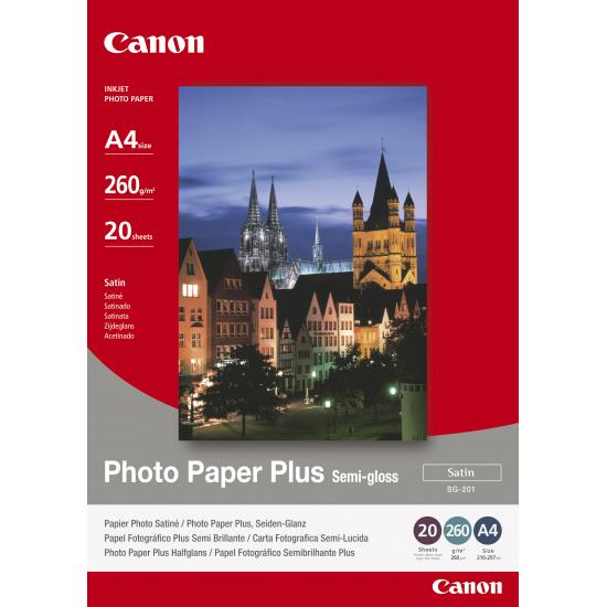 Canon SG-201 Fotopapier Satin A4