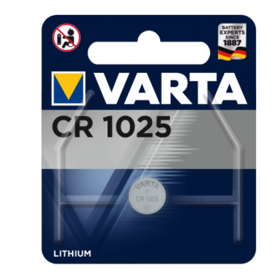 Varta CR 1025 Einwegbatterie Lithium