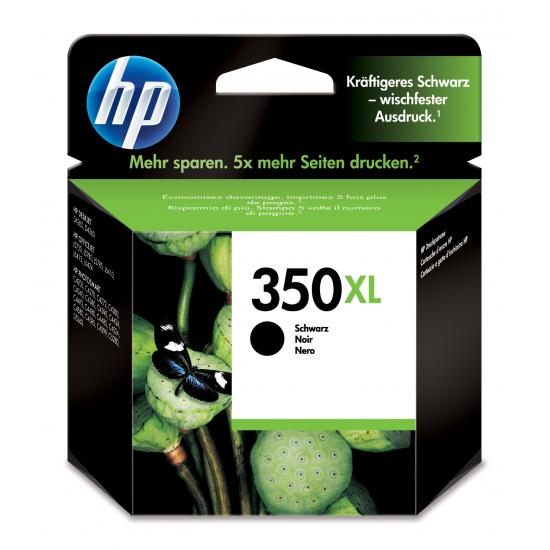 HP 350XL Original Foto schwarz 1 Stück(e)