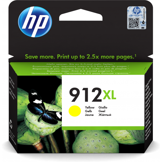 HP 912 Original Gelb 1 Stück(e)