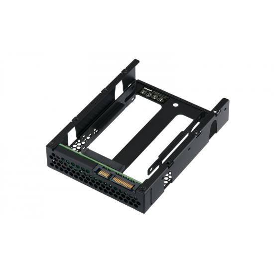 QNAP QDA-A2AR Speicherlaufwerksgehäuse HDD / SSD-Gehäuse Schwarz 2.5 Zoll