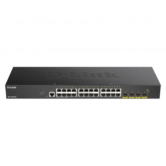D-Link DGS-1250-28X Netzwerk-Switch Managed L3 Gigabit Ethernet (10/100/1000) Schwarz