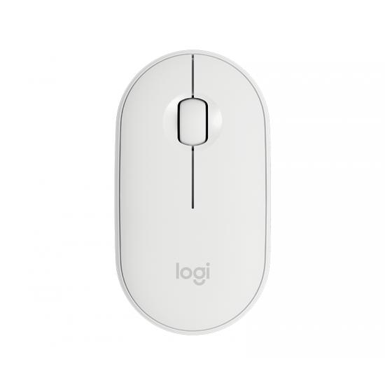 Logitech Pebble M350 Maus RF kabellos + Bluetooth Optisch 1000 DPI Beidhändig