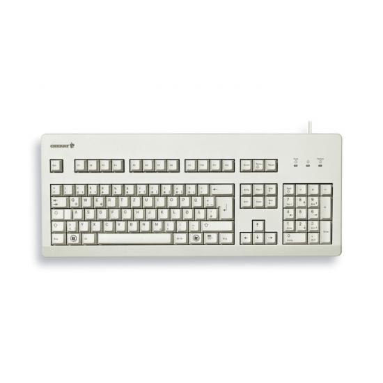 CHERRY G80-3000 Tastatur USB QWERTZ Deutsch Grau