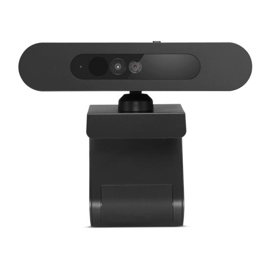 Lenovo 500 FHD Webcam 1920 x 1080 Pixel USB-C Schwarz
