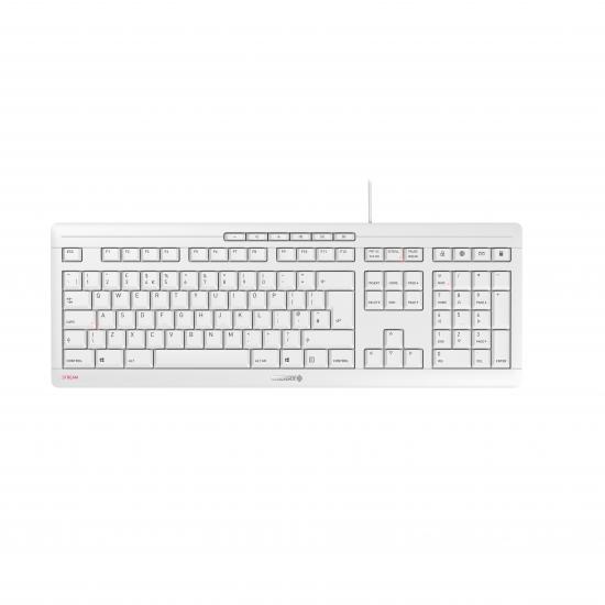 CHERRY JK-8500 Tastatur USB QWERTY Englisch Weiß