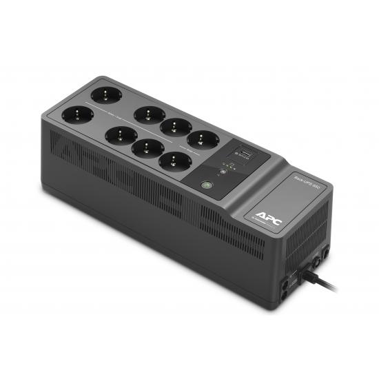 APC Back-UPS 650VA 230V 1 USB charging port - (Offline-) USV Standby (Offline) 400 W