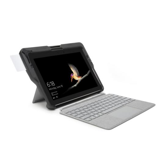 Kensington BlackBelt™ Robuste Schutzhülle mit integriertem CAC-Kartenleser für Surface™ Go