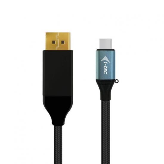 i-tec USB-C DisplayPort Cable Adapter 4K / 60 Hz 200cm