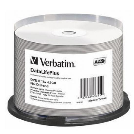 Verbatim DataLifePlus 4,7 GB DVD-R 50 Stück(e)