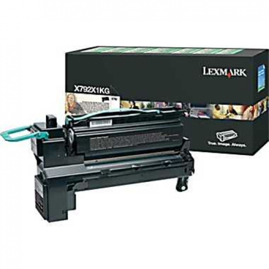 Lexmark X792X1KG Tonerkartusche 1 Stück(e) Original Schwarz