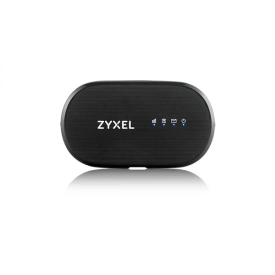 Zyxel WAH7601 WLAN-Router Einzelband (2,4GHz) 3G 4G Schwarz