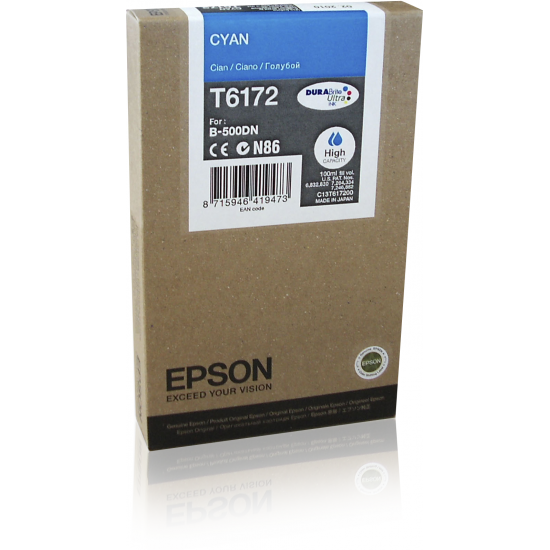 Epson Tintenpatrone HC Cyan 7k