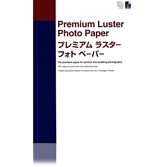 Epson Premium Luster Photo Paper, DIN A2, 250 g/m², 25 Blatt