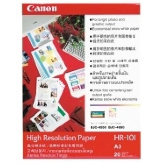 Canon HR-101N A3 High Resolution Paper Druckerpapier