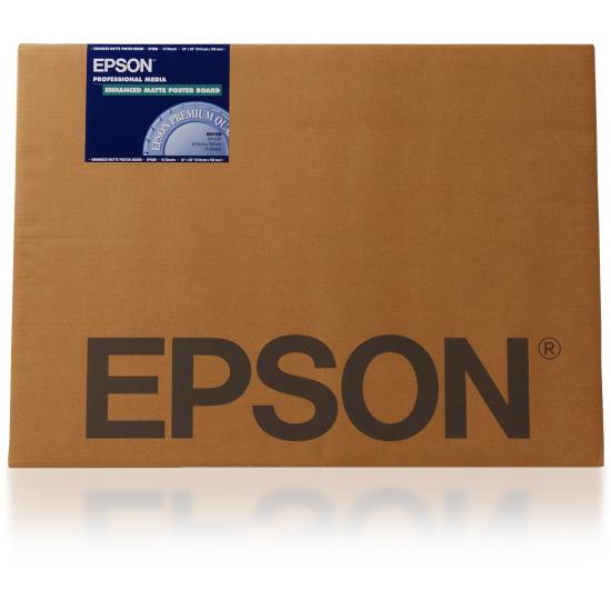 Epson Enhanced Matte Posterboard, 24 Zoll x 30 Zoll, 1.130 g/m²